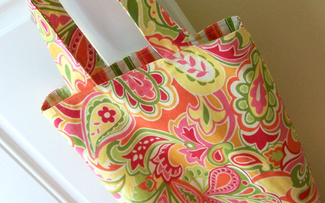 Sewing 101 – Try Making this Reversible Tote!