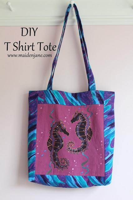 T Shirt Tote Tutorial