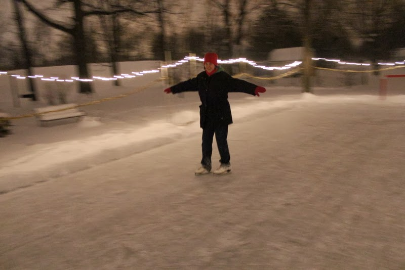 Silent Night of Skating
