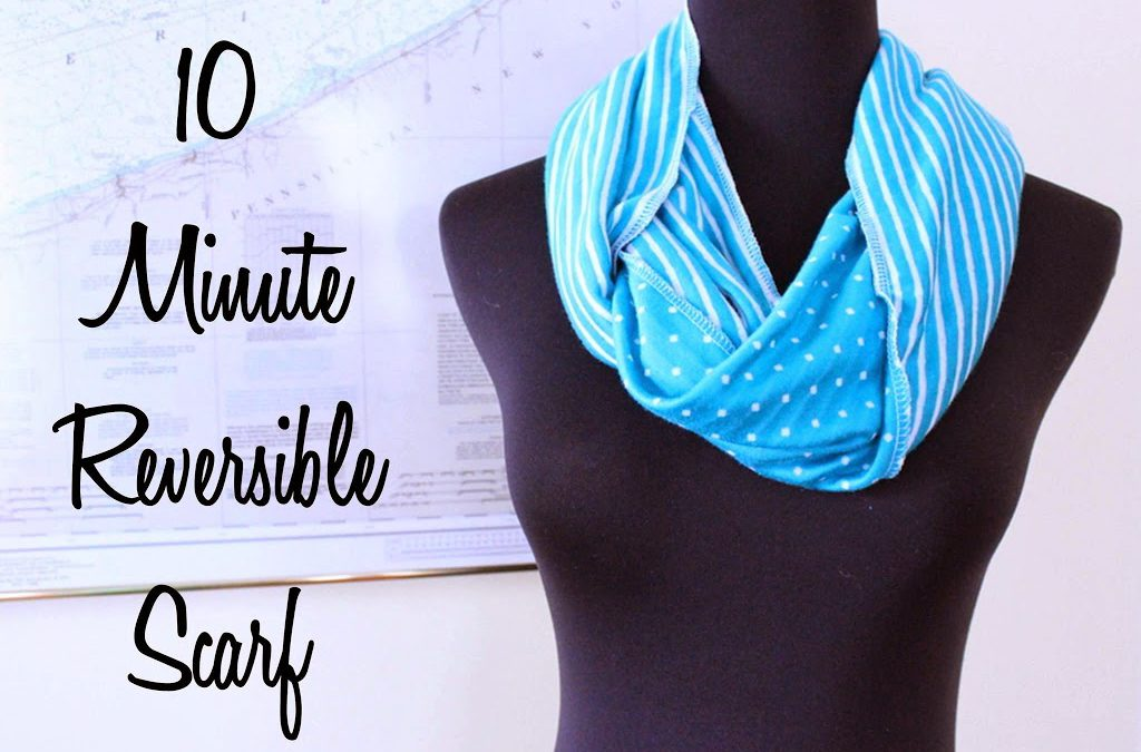 Ten Minute Reversible Scarf
