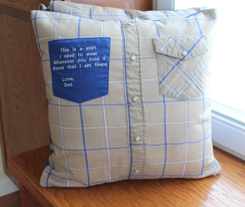 Poignant Memory Pillow With Embroidery Maiden Jane