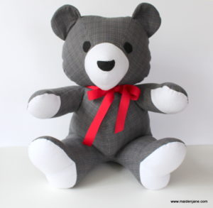 memory teddy bear