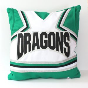 cheerleading uniform pillow