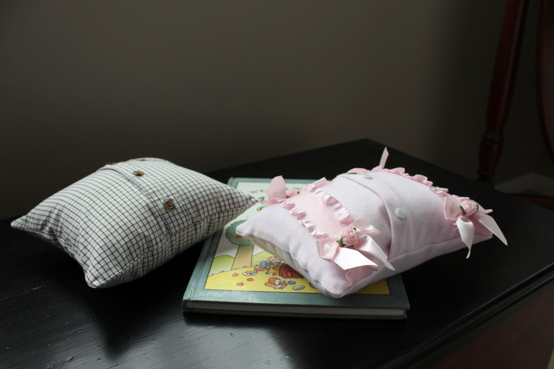 Mini Baby Memory Pillows
