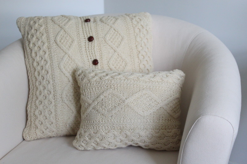 Memory Pillows from Sweater