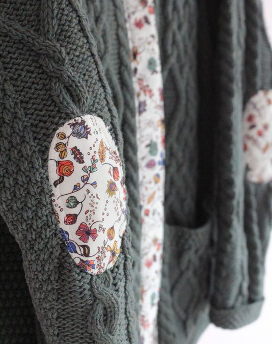 Sweater Repair with Liberty of London Fabric Tutorial